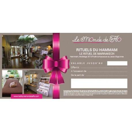 Soin Cadeau Hammam Rituel de Marrakech pour les femmes