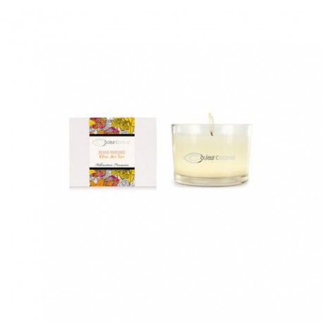 Bougie Parfumée Rêve des Iles - Couleur Caramel