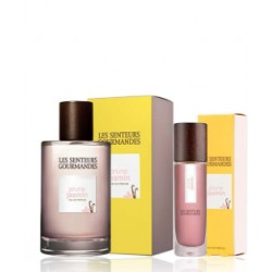 Coffret Parfum & Gel Douche - Prune Jasmin - LES SENTEURS GOURMANDES