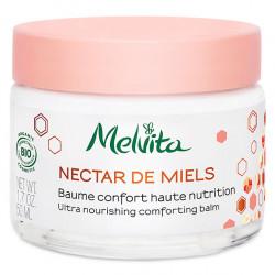Crème Nourissante Visage Bio 50 ml Nectar de Miels - Melvita